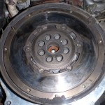 mazda 6 2,0 DI zdjęcie przegrzanego koła dwumasowego