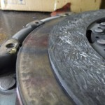 mazda 6 2,0 DI spalona tarcza sprzęgła