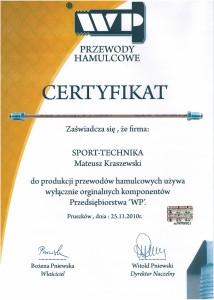 Dorabianie przewodów hamulcowych Wrocław