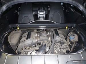 komora silnika porsche cayman s wrocław